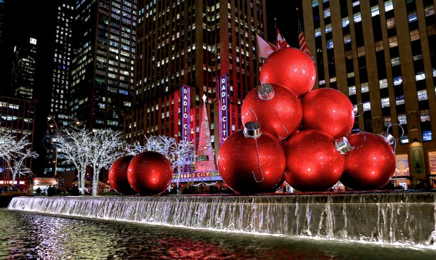 New york city at christmas time maxima tours 2017 for Christmas trips to new york